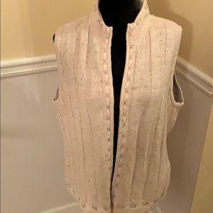 Woolrich Ecru Sweater Vest